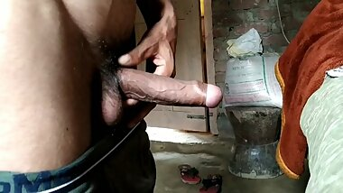 Indian masturbation and cumshot in room_indian_handjob and cumshot [Hindi]Homemade