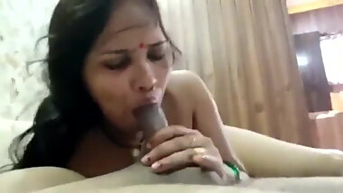 Indian Naughty Wife Blow Job