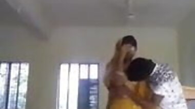 Desi College girl romance in class room