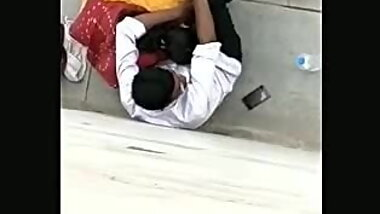 Desi aunty sucking on road.spy video
