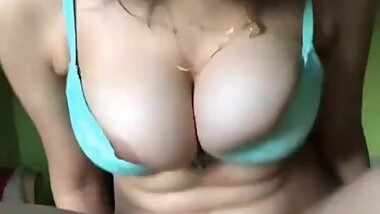 BEAUTIFUL BIG BOOBS DESI GIRL RIDE A COCK HARD FUCK HARD